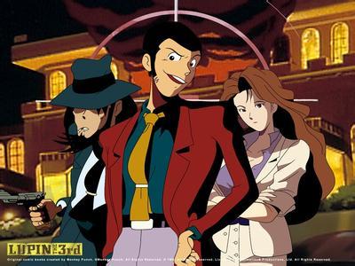 【动漫资源】鲁邦三世 Lupin III 剧场版全集1-6+TV1-3季度+名为峰不二子的女人+剧场版 血之刻印 永远的美人鱼