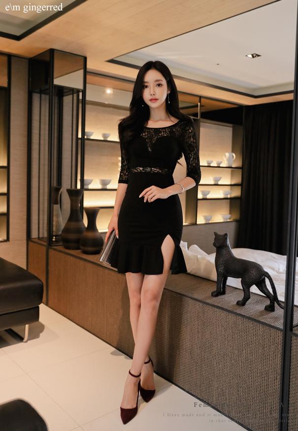 黑色短裙 尽显优雅 第7张