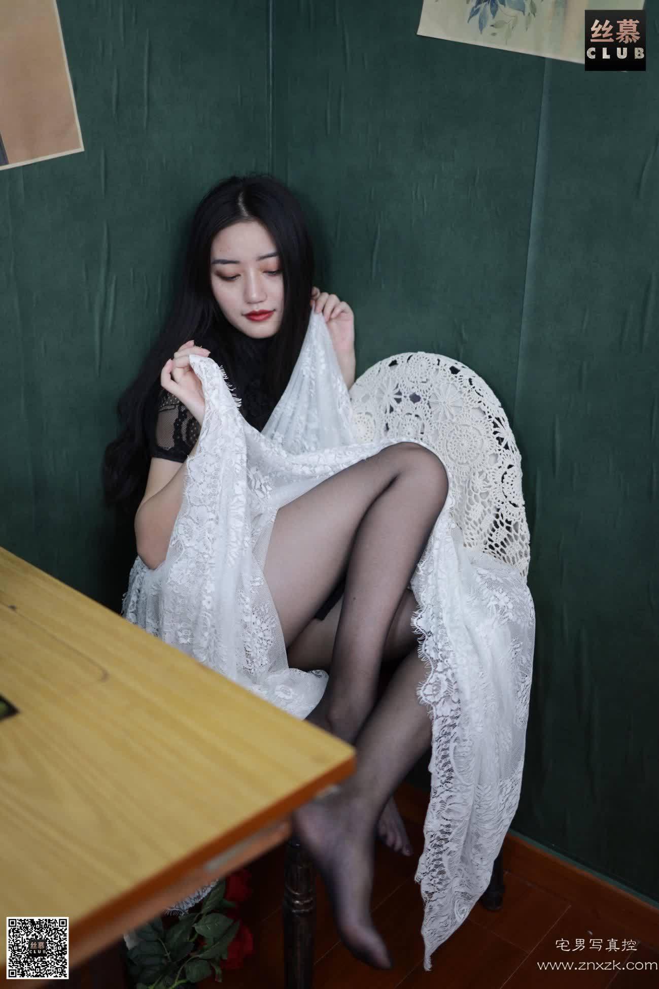 丝慕GIRL SM076 双双 柔情黑丝
