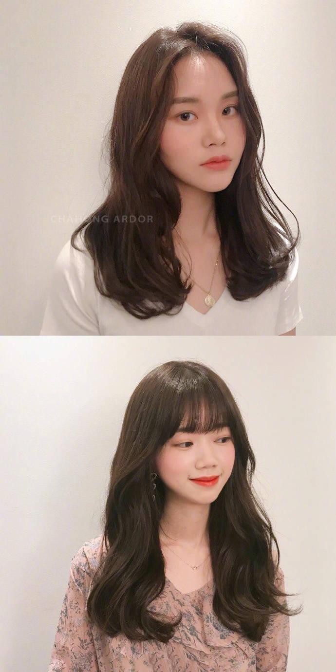 深色系韩式气质温柔发型小合集,想换发型的宝宝可以参考一下