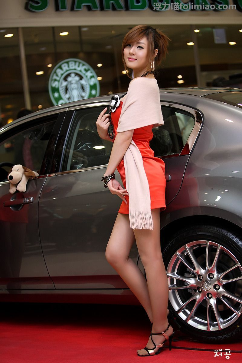 黄美姬图片, 黄美姬, 韩国车模黄美姬, 韩国十大美女车模