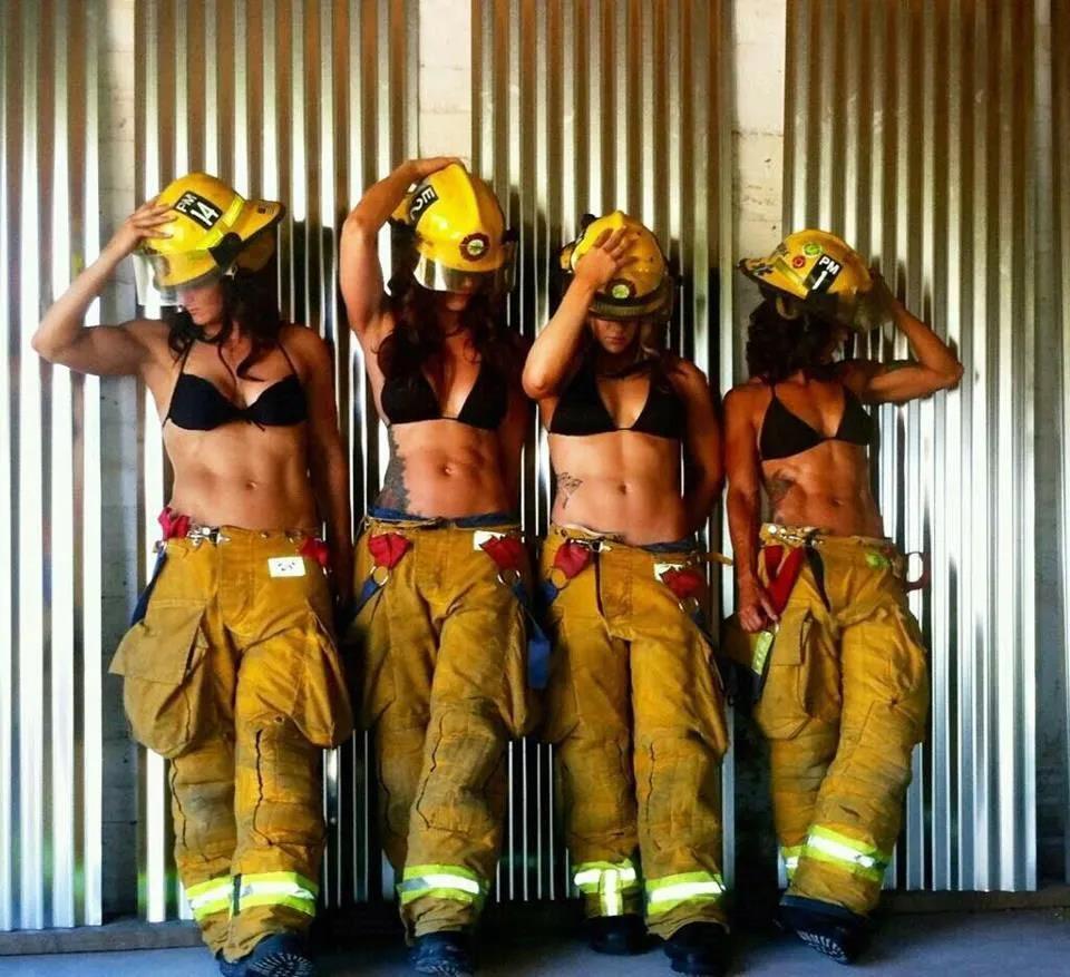 萌妹子《澳大利亚消防员日历》的图片 第33张