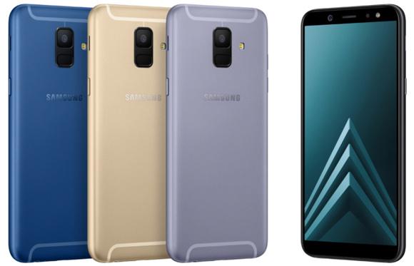 三星 Galaxy A6 / A6+ AMOLED 全屏+ 双镜头
