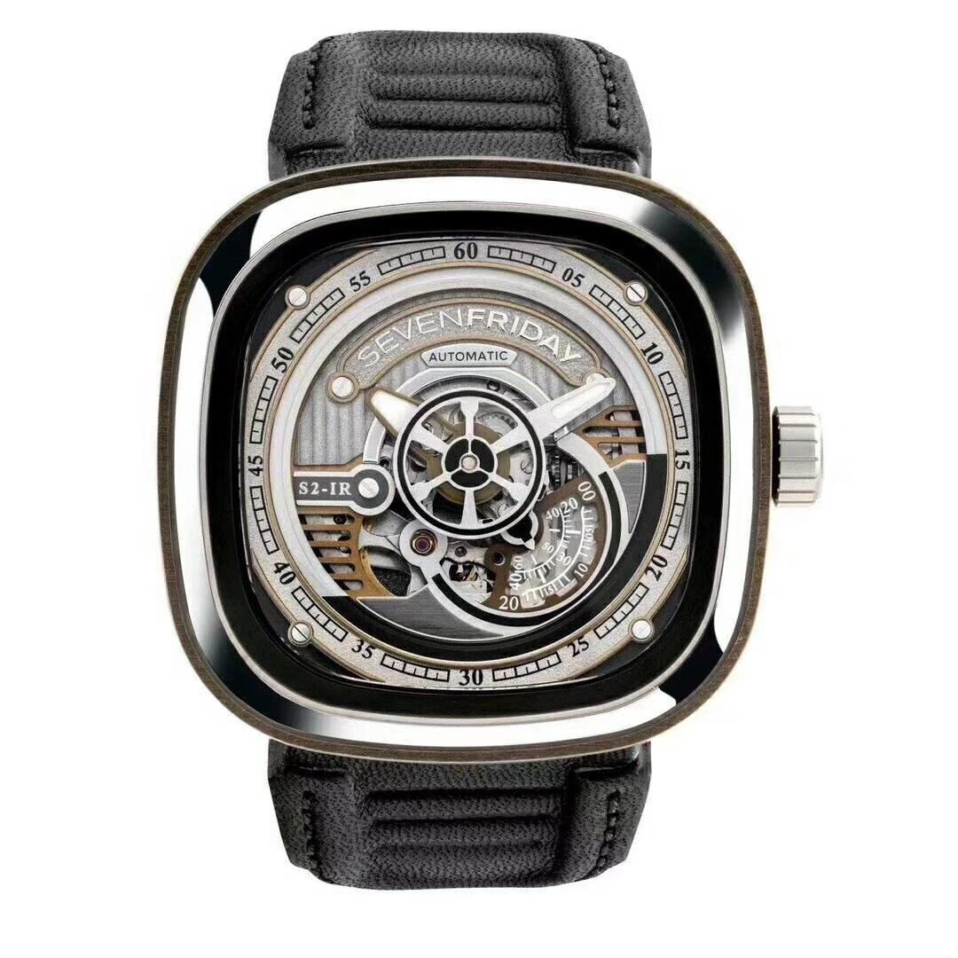 高仿Sevenfriday手表 s2/01高仿七个星期五手机复刻手表