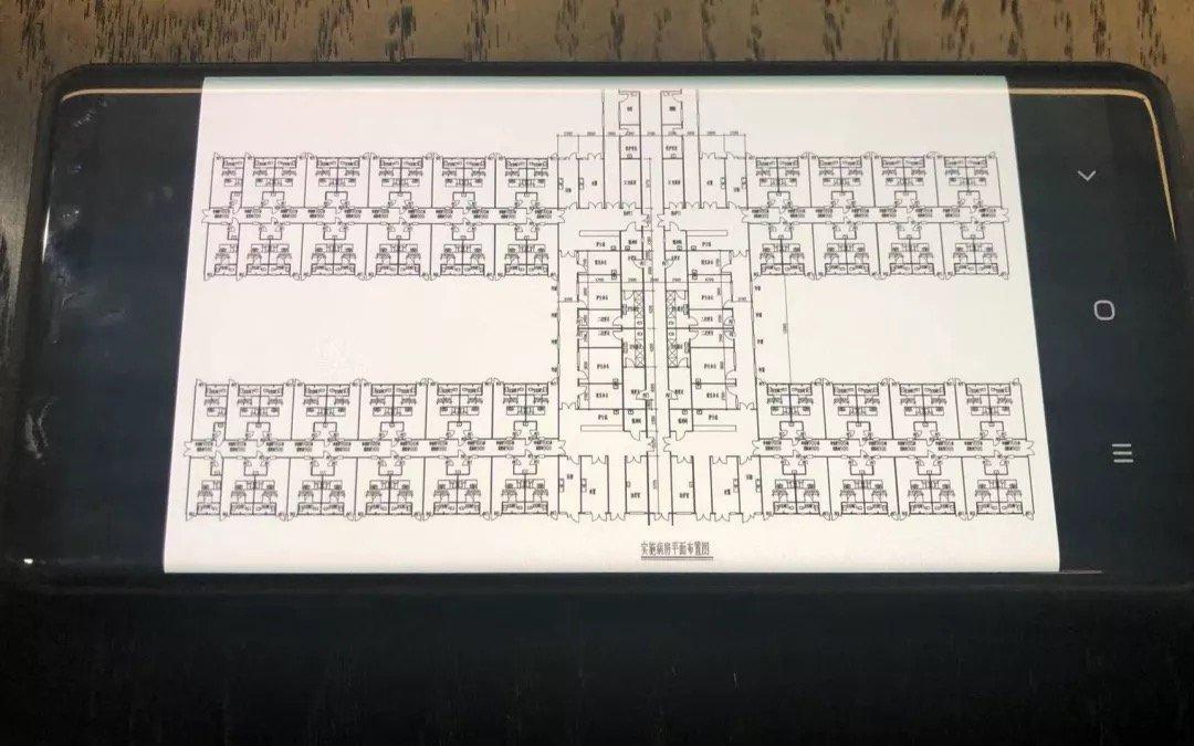 小汤山医院设计师黄锡璆手机上保存的设计图