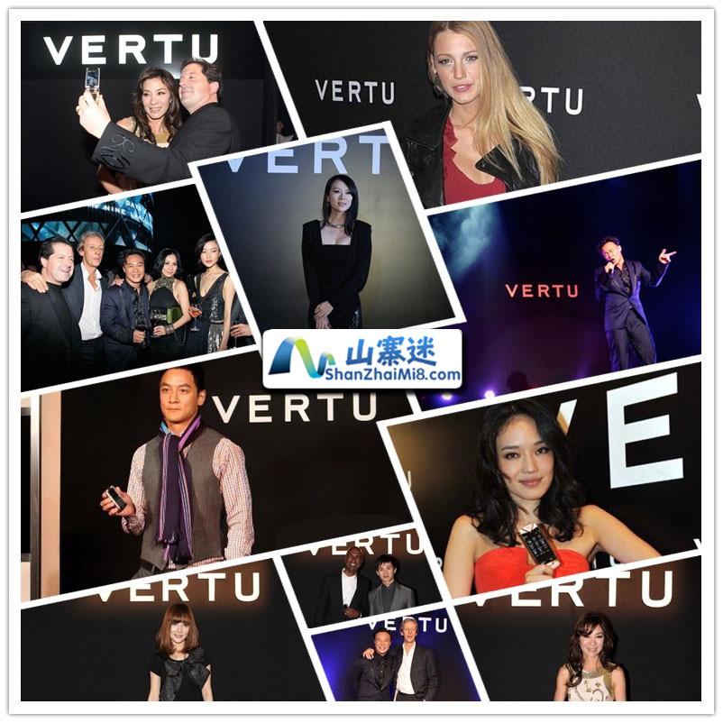 山寨迷实拍图片高仿威图VERTU总裁签名版手机 - 黑色+玫瑰色 - 陶瓷-隐藏键盘,专业精仿手机,高仿手机网站