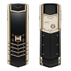 精仿威图手机 Vertu签名版金色陶瓷 【黑金色】【陶瓷】