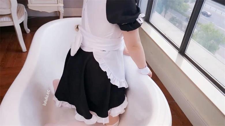 微博网红@三寸萝莉 浴缸女仆  [1V/558M]