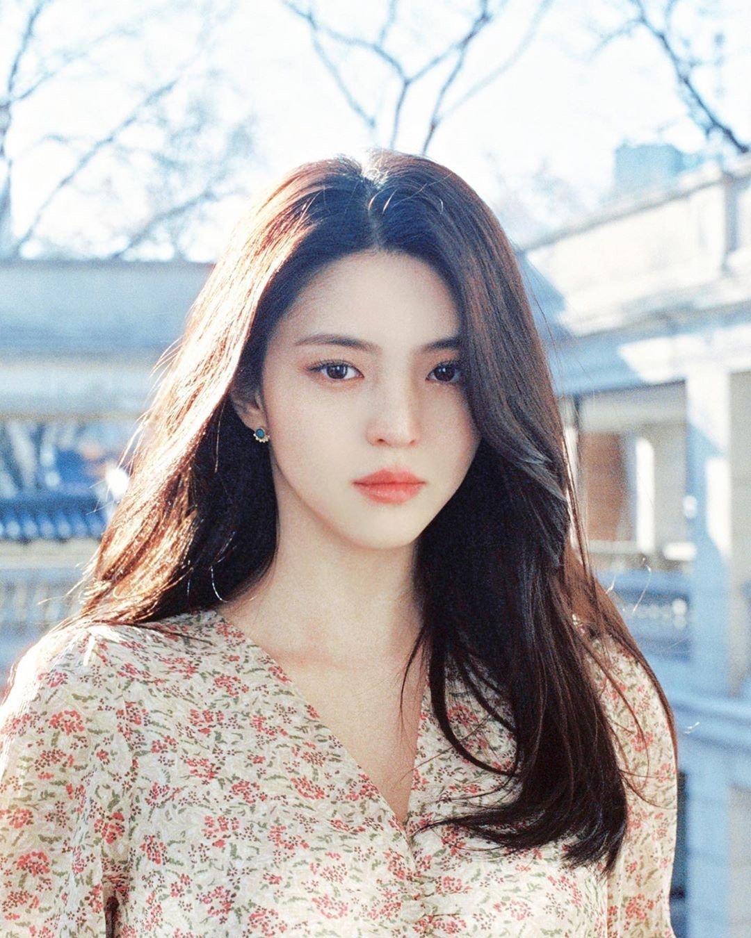 韩国女演员韩素希日常生活写真图片,太美了好精致