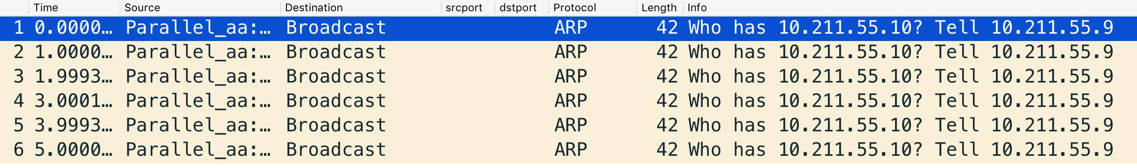 ARP查询