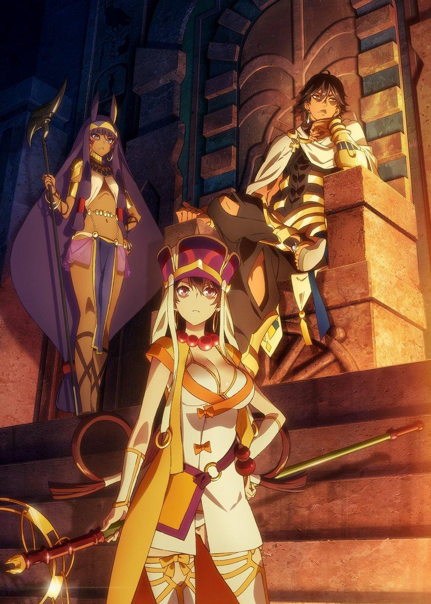 剧场版动画「Fate/Grand Order –神圣圆桌领域卡美洛-」新视觉图和PV公开,2020年夏季日本上映