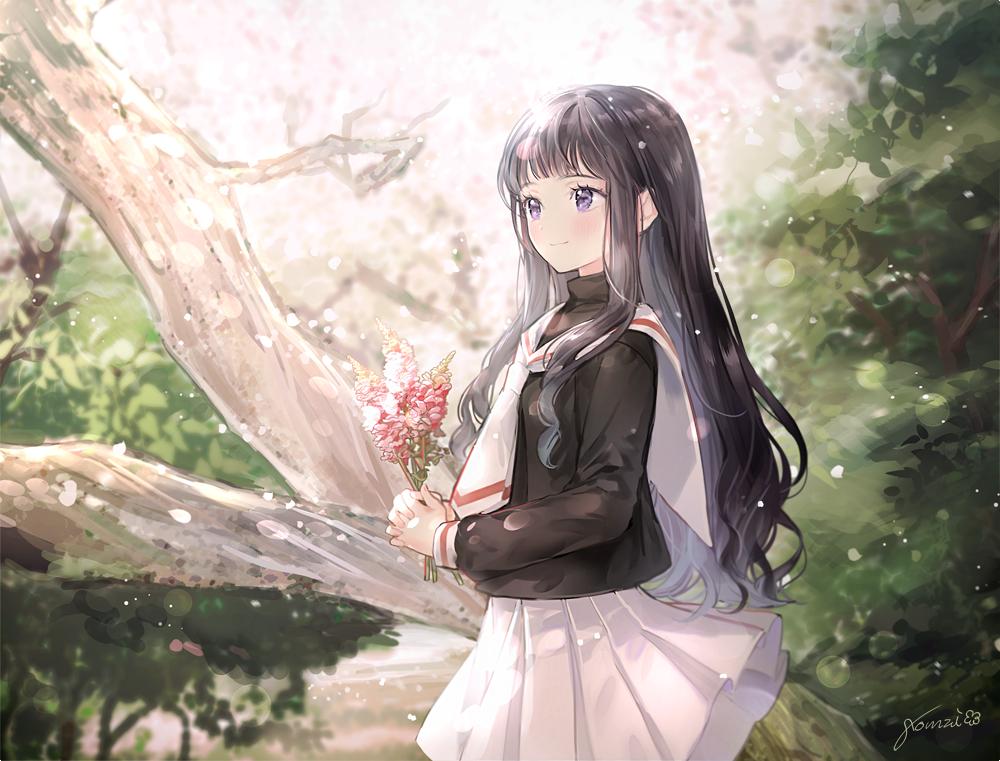 【P站画师】小清新的美少女们!韩国画师gomzi的插画作品- ACG17.COM