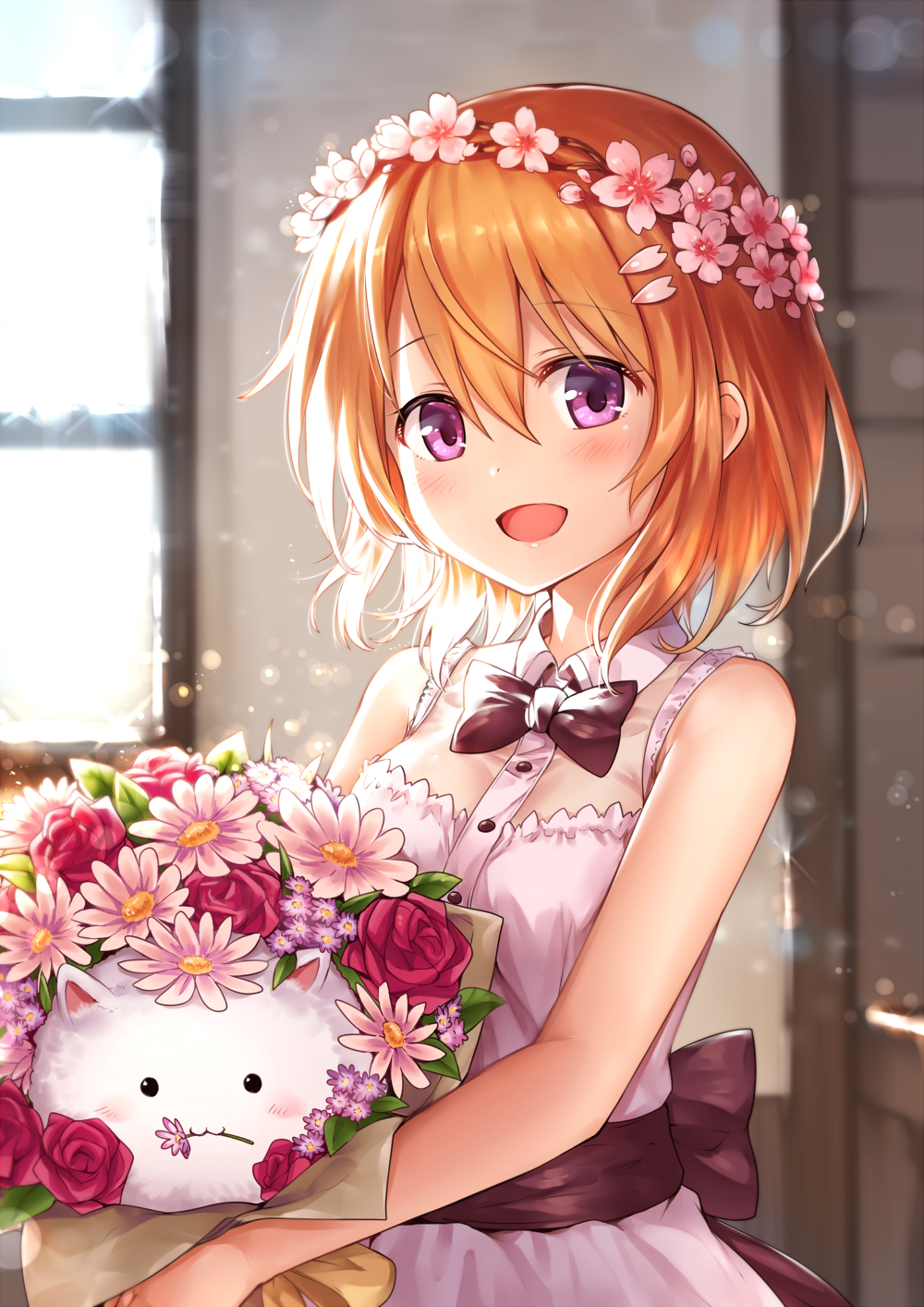 【P站美图】《请问您今天要来点兔子吗?》保登心爱生日壁纸特辑