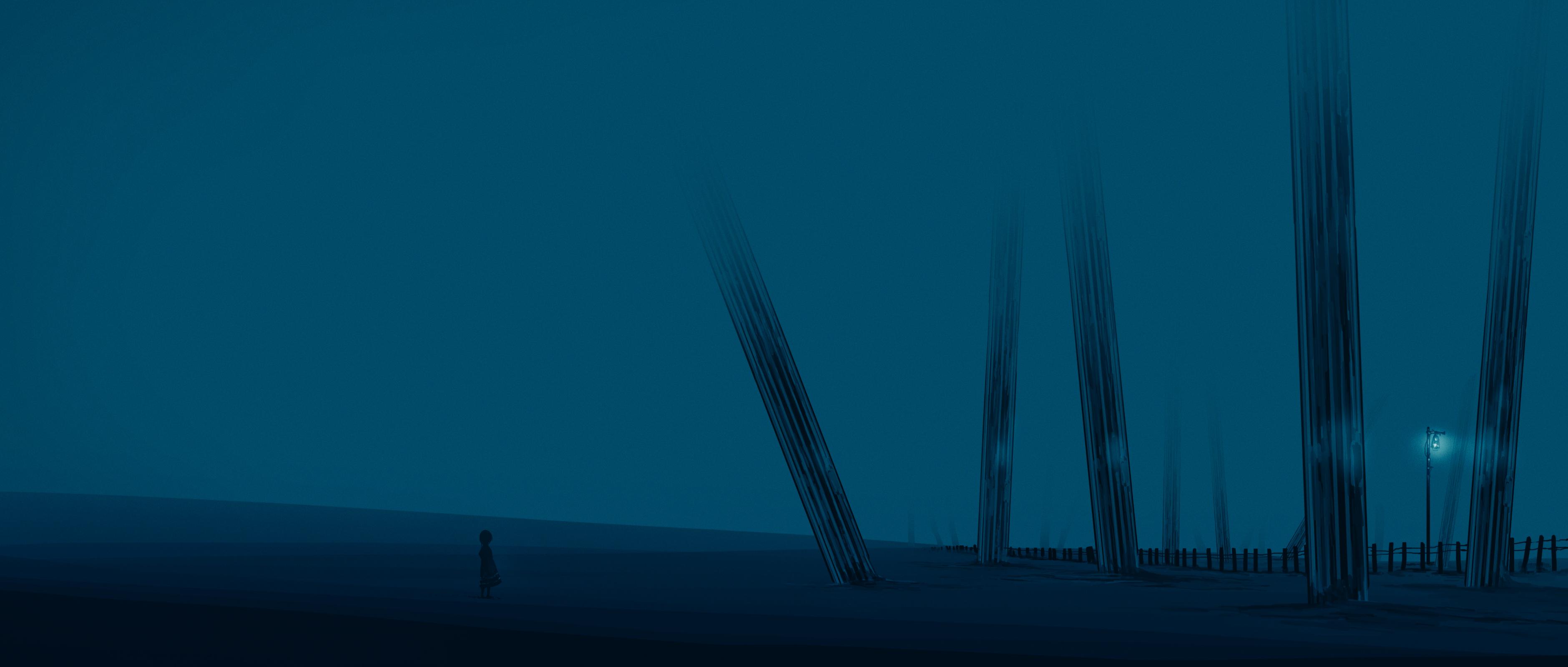 【P站画师】静谧风景壁纸,日本画师住崎的插画作品- DILIDM.COM