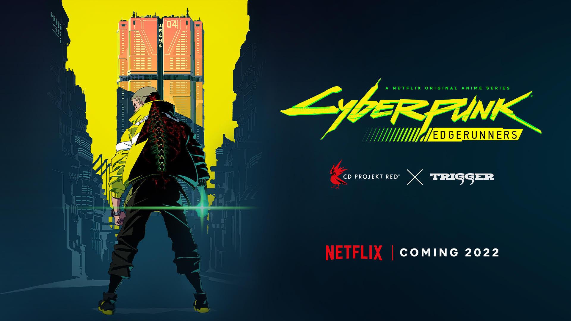 赛博朋克2077将推出动画「赛博朋克 EDGERUNNERS」,扳机社制作、今石洋之导演