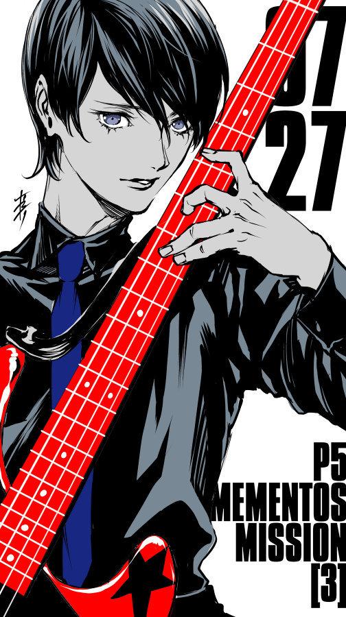 漫画「女神异闻录5」最终卷发售,作者齐藤ロクロ发布贺图