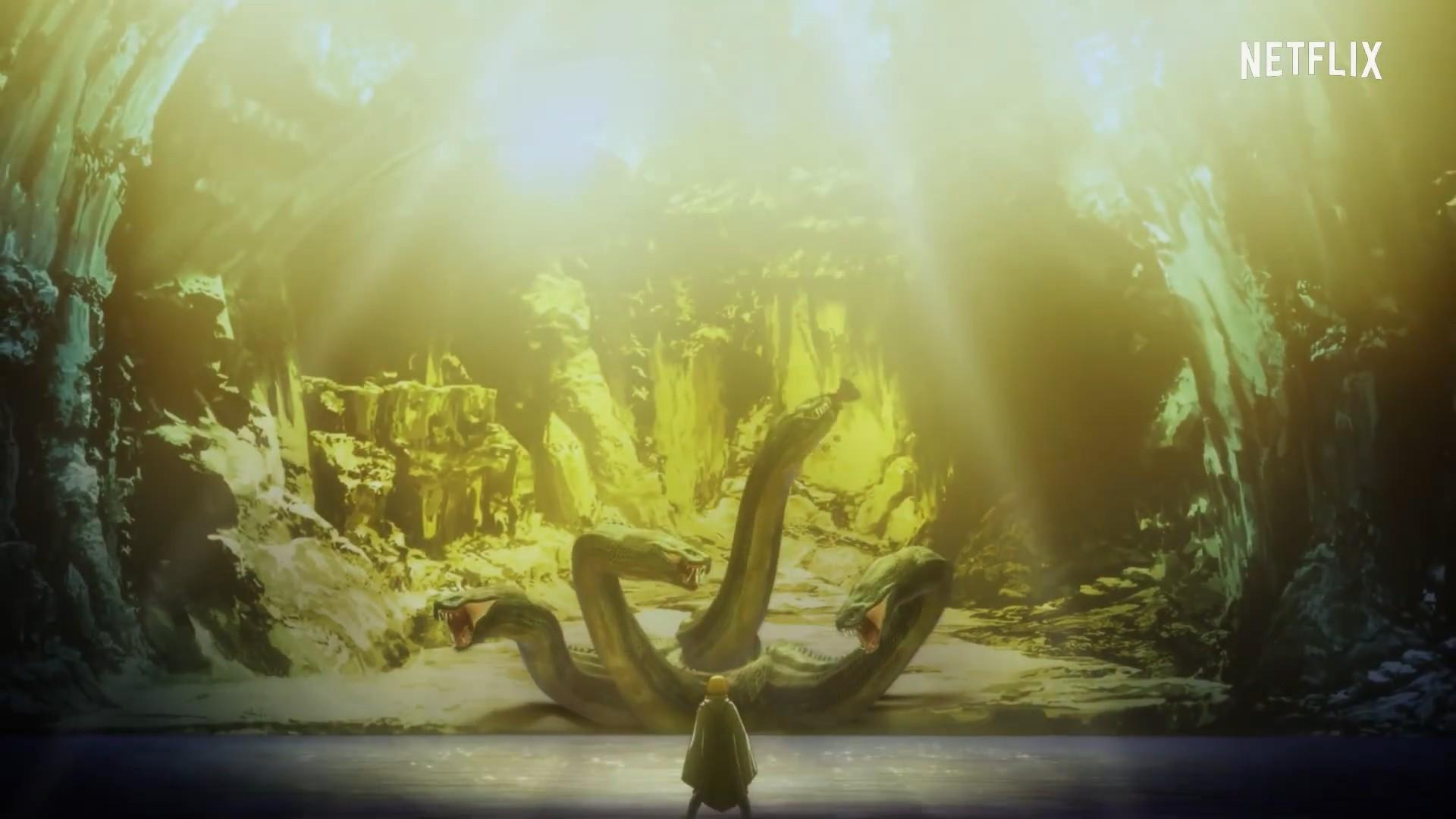 网飞动画《龙之信条》正式预告和新宣传图公开,9月17日开播-