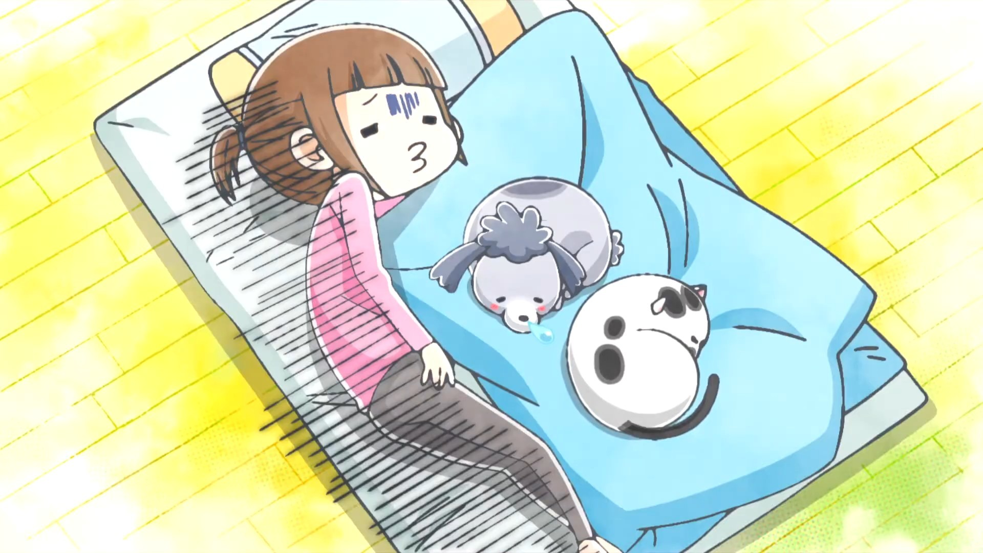 TV动画「养猫养狗每天很开心」第2弹PV公开,10月播出