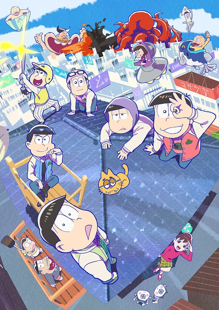 TV动画「阿松」第三季新视觉图公开,10月12日开播