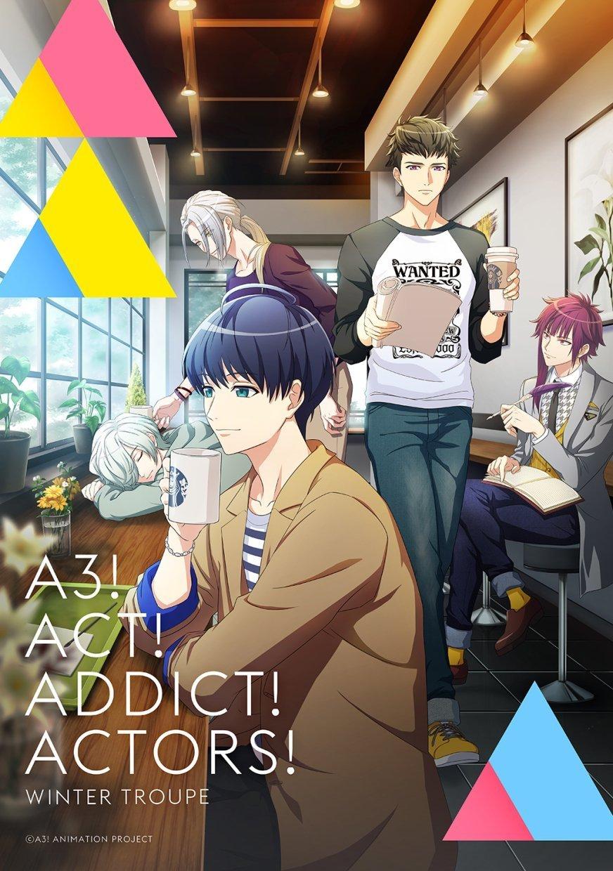 TV动画「A3」冬组视觉公开,10月12日开始播出