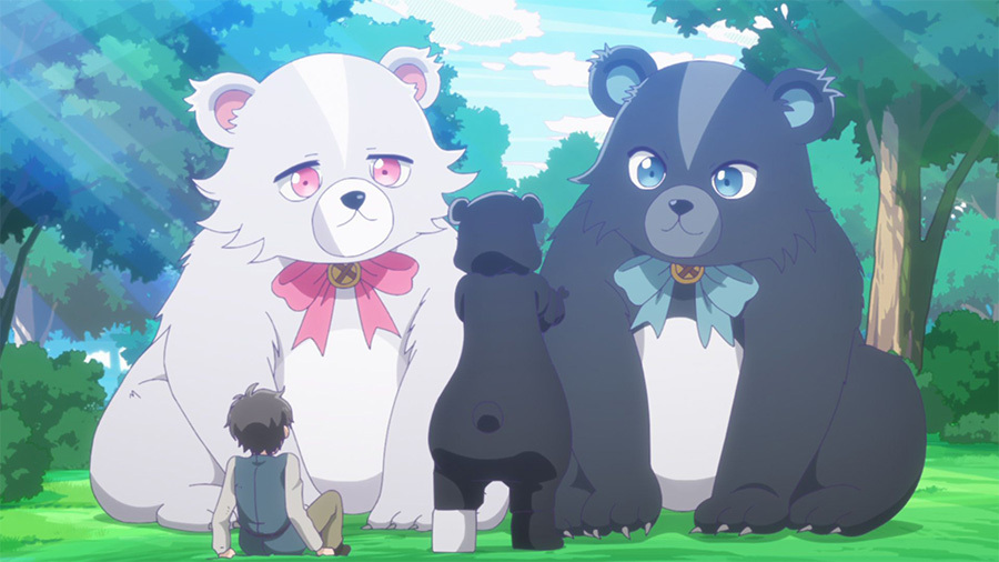 死宅美少女异世界冒险!TV动画「熊熊勇闯异世界」第1话先行图公开