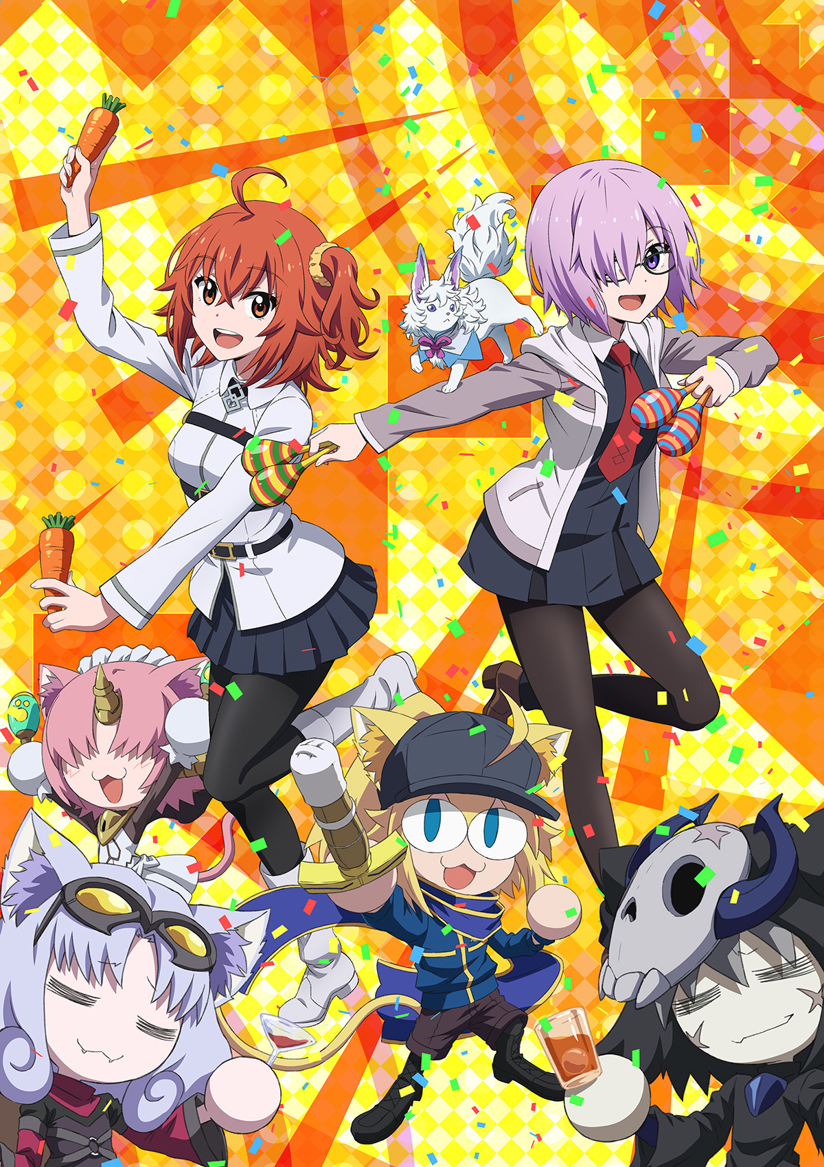 【情报】OVA动画《Fate/Grand Carnival》PV&视觉图公开