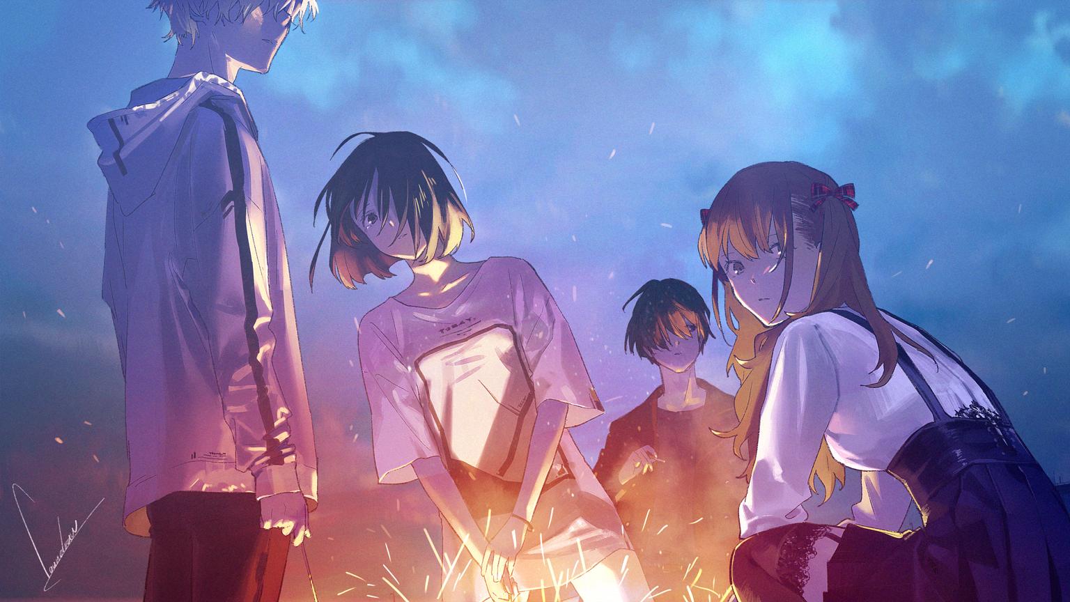 loundraw初监督作品,短篇动画电影「Summer Ghost」将于2021年上映