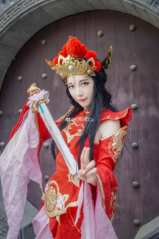 [COS] 王者荣耀 露娜  @初和绘乙x COSPLAY-第9张