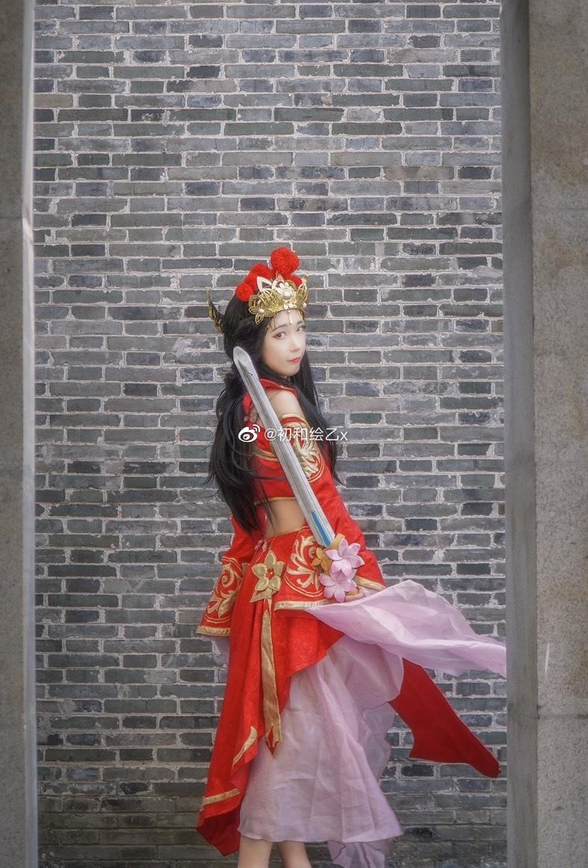 [COS] 王者荣耀 露娜  @初和绘乙x COSPLAY-第5张