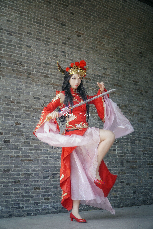 [COS] 王者荣耀 露娜  @初和绘乙x COSPLAY-第8张