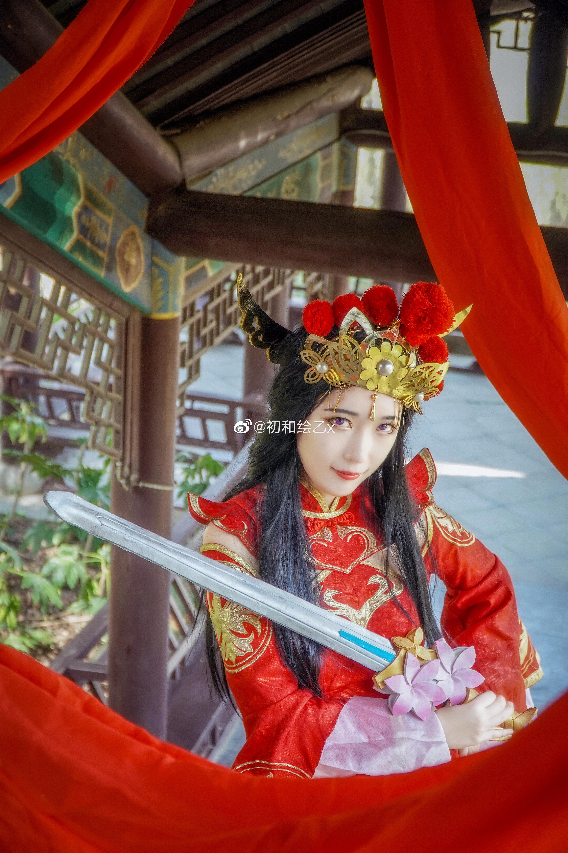 [COS] 王者荣耀 露娜  @初和绘乙x COSPLAY-第6张