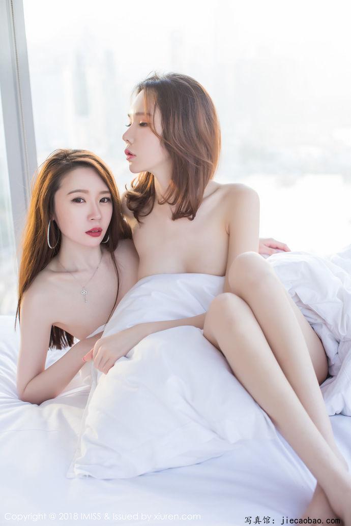 姐妹花梦心玥和萌琪琪摄人魂魄的性感写真鉴赏 美女精选 第26张