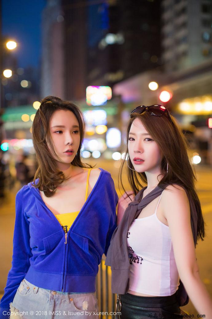 姐妹花梦心玥和萌琪琪摄人魂魄的性感写真鉴赏 美女精选 第32张