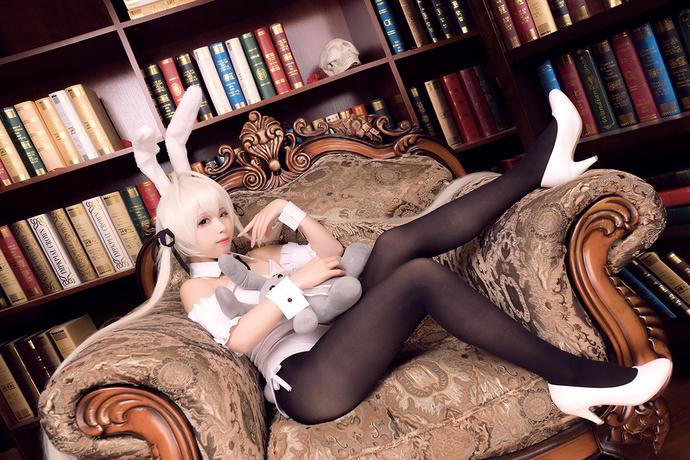 兔女郎的极致黑丝诱惑