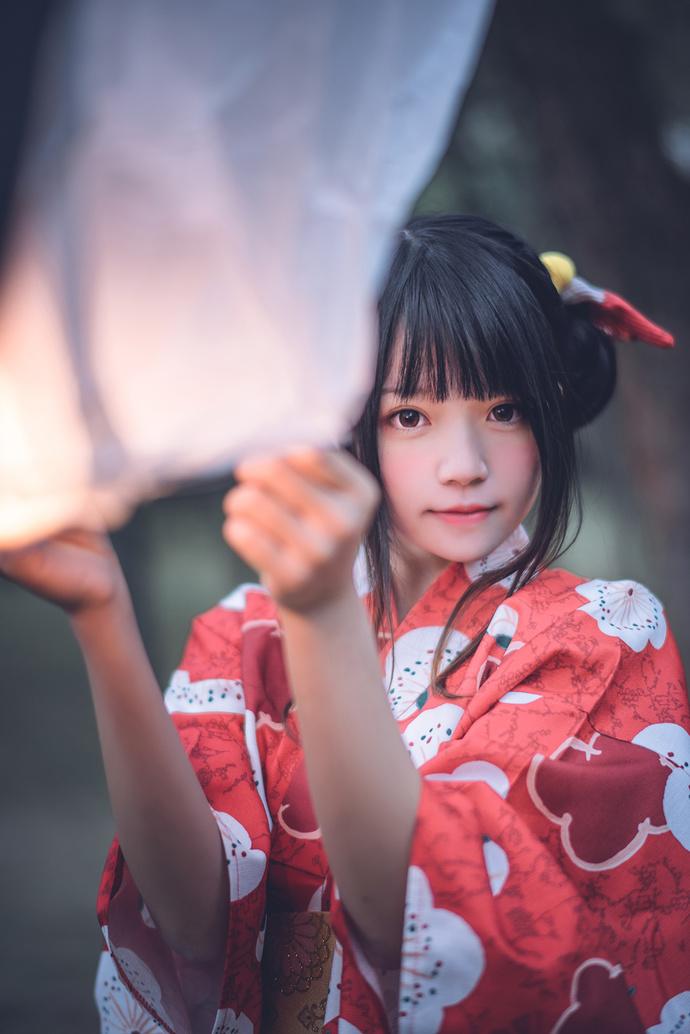 桜桃喵 033 和服少女的夏日祭 少女二次元