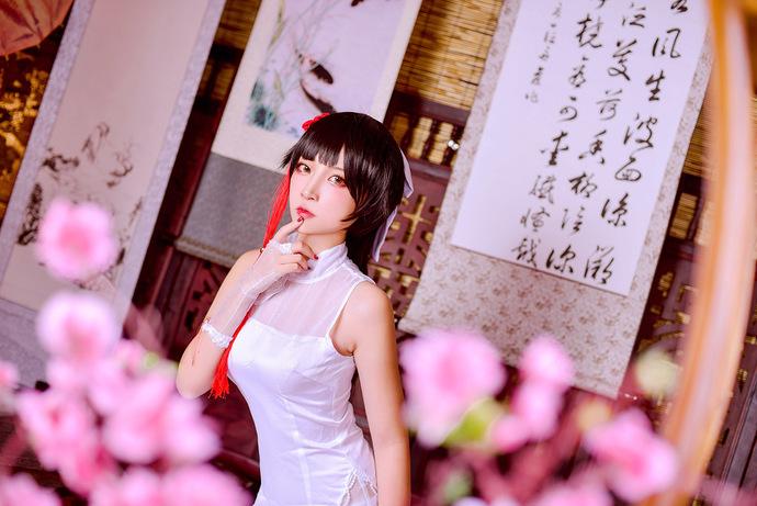 中国风 白丝旗袍小姐姐 少女二次元