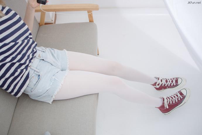JKFUN 白丝短裤的小萝莉