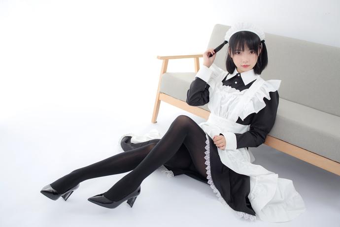JKFUN 小萝莉的黑丝女仆装
