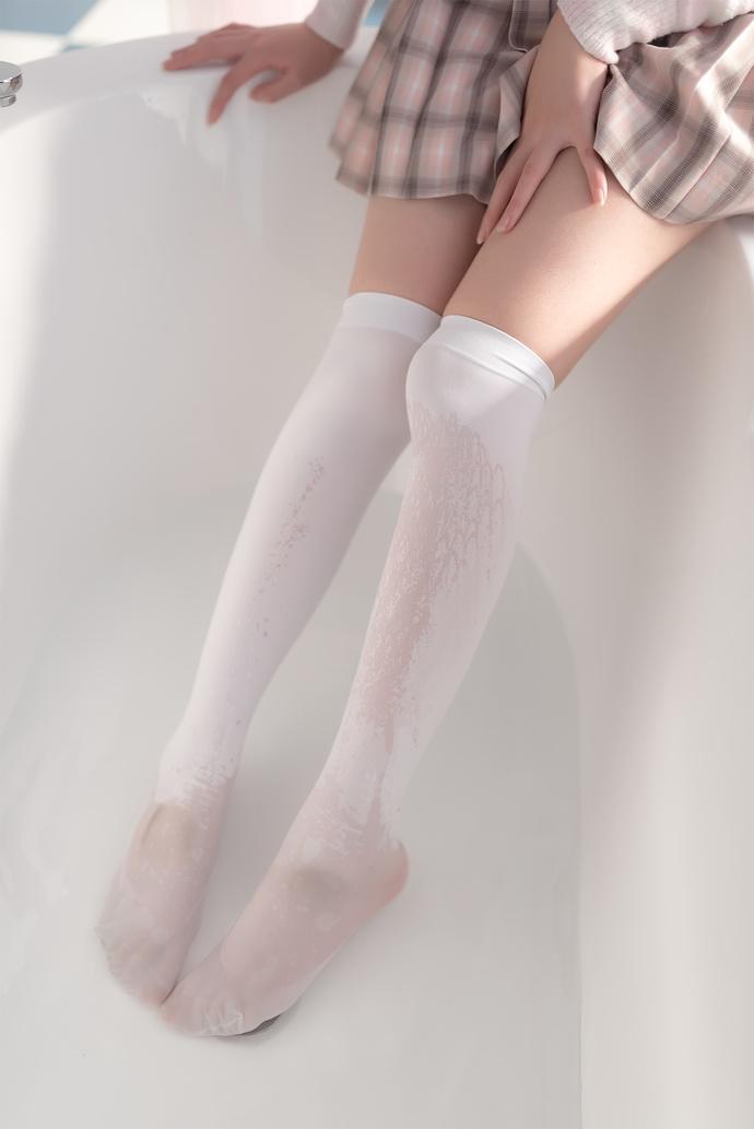 风之领域 012 白丝美腿少女 清纯丝袜
