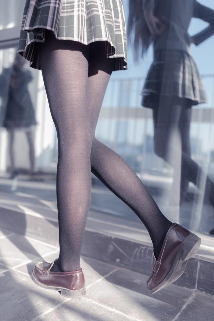 风之领域 023 校园黑丝少女写真 清纯丝袜