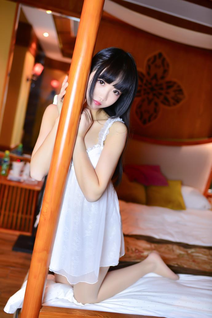雪琪 SAMA-双马尾体操服和睡衣少女 中日妹子