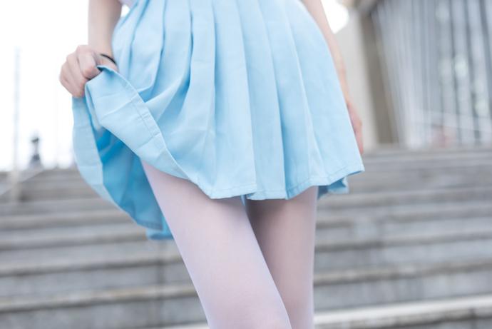 风之领域 028 白丝制服少女写真 清纯丝袜