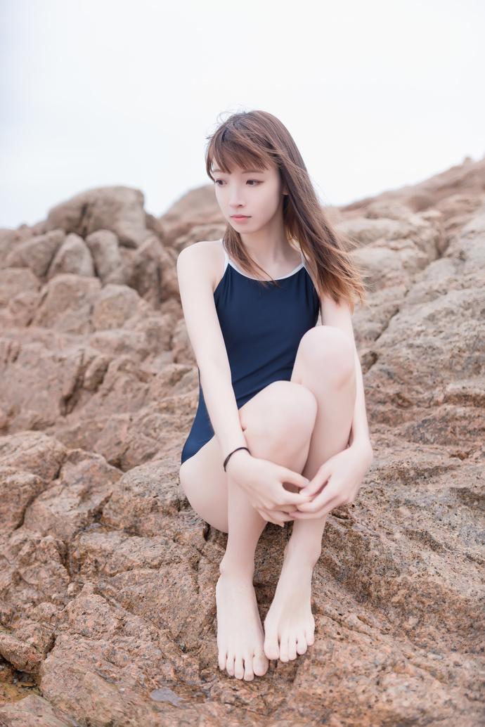 风之领域 055 泳装美腿少女 中日妹子