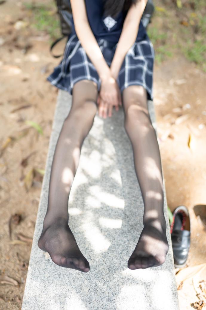 风之领域 059 黑丝方格裙少女写真 中日妹子