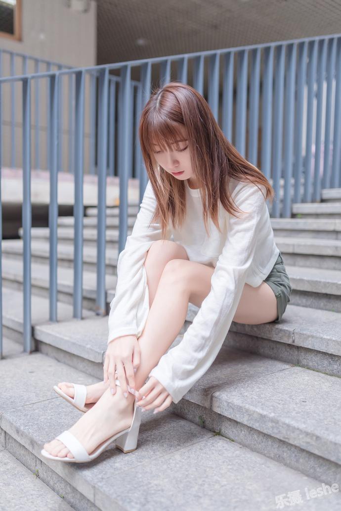 风之领域 062 清纯气质美腿少女 中日妹子