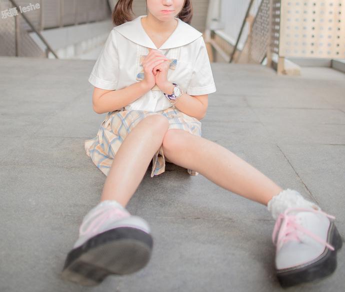 双马尾的 JK 少女 清纯丝袜