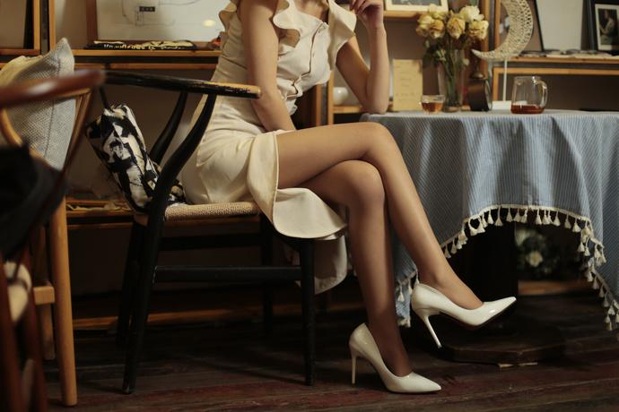 rosi腿控高跟鞋少女