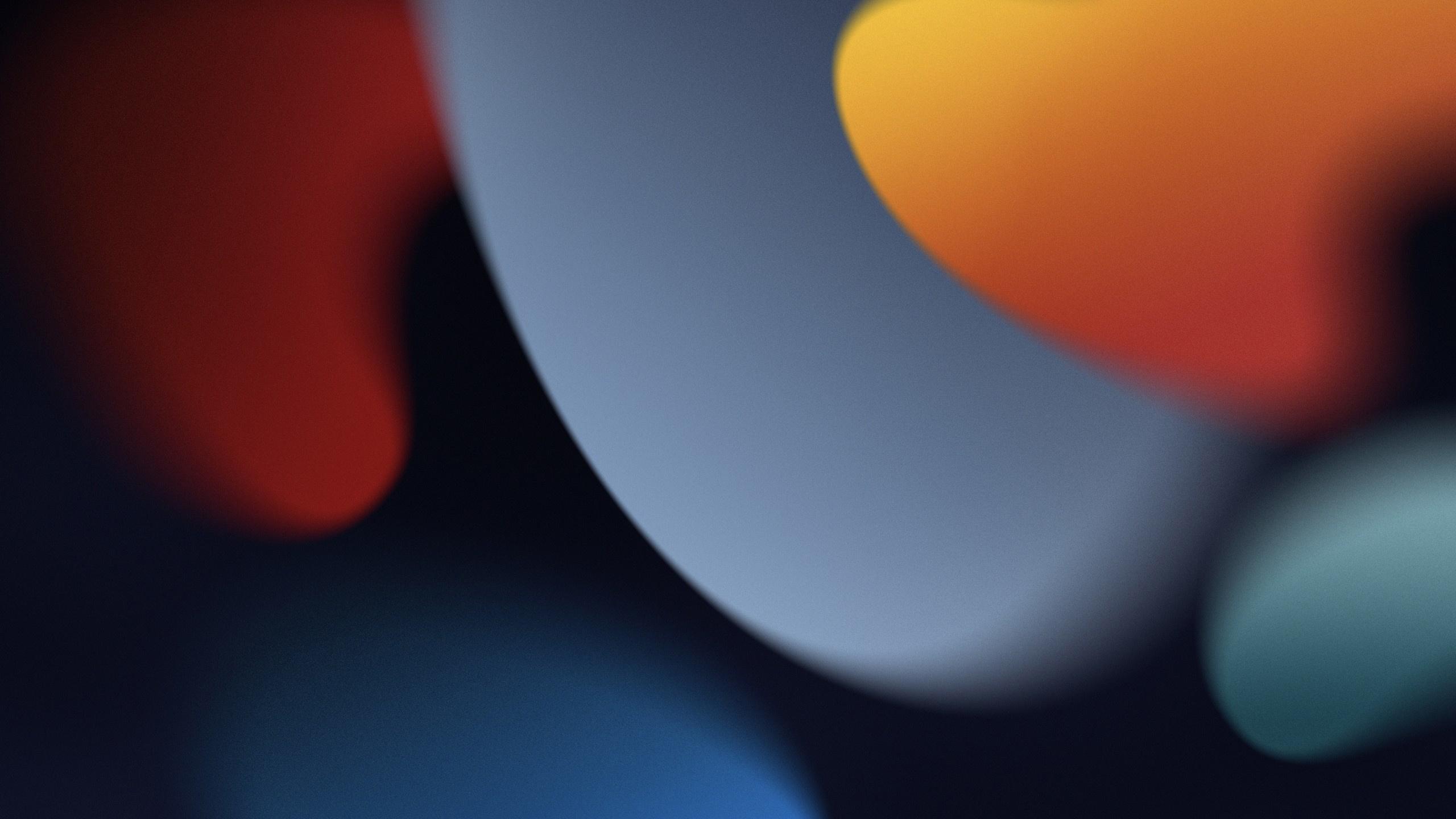 iOS 15自带抽象背景壁纸