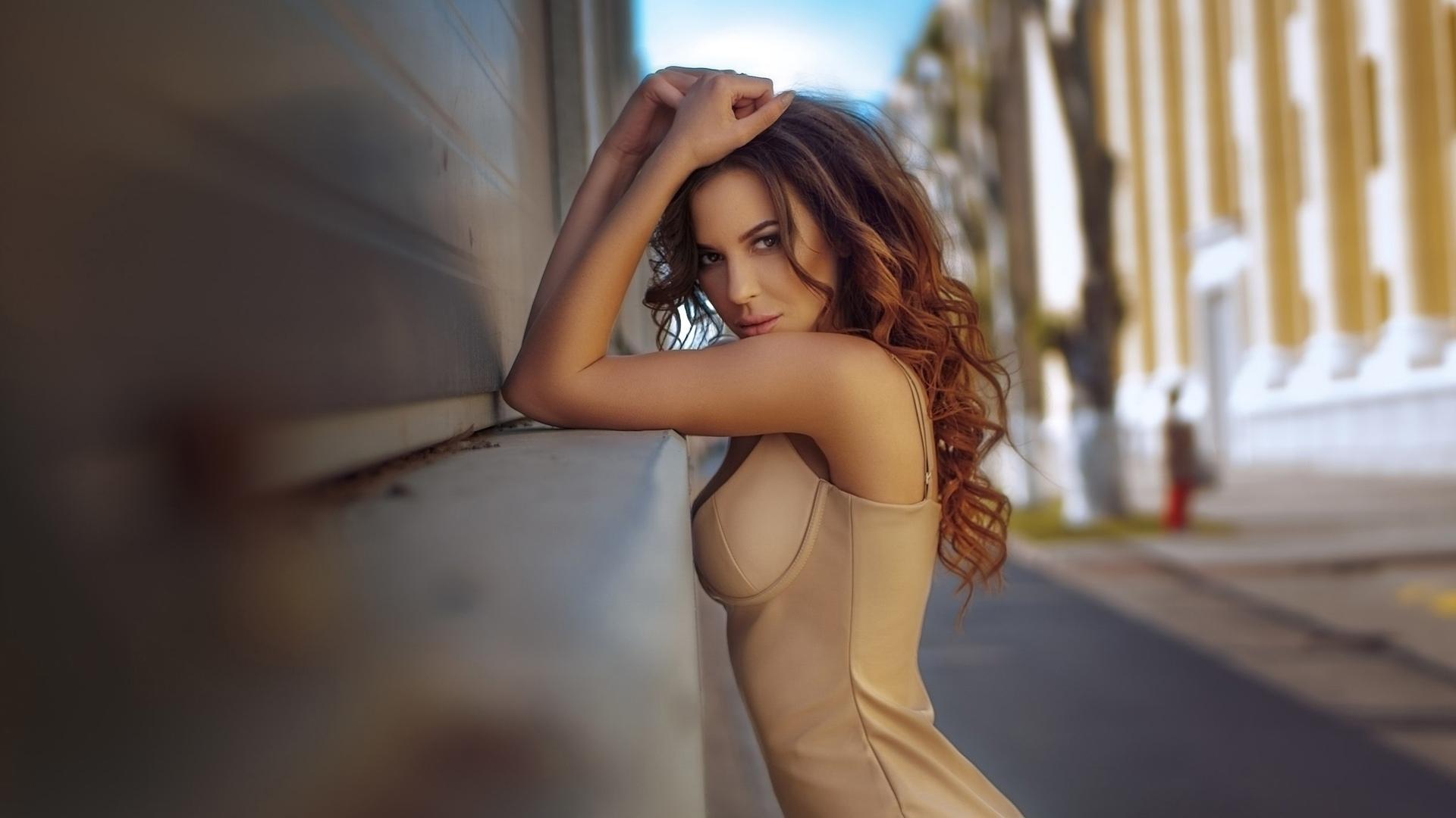 绰约多姿的欧美美女写真