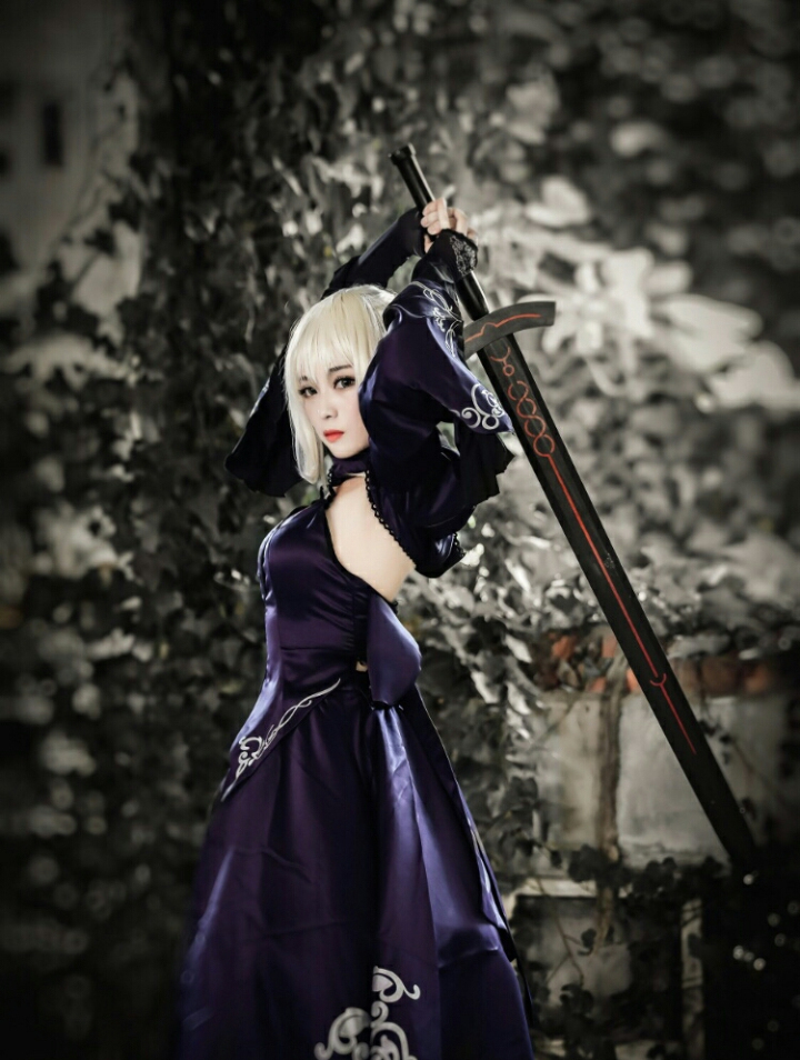 【Cosplay】【转载】COSPLAY《FGO》–Saber Alter